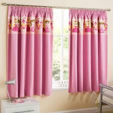 Childrens Bedroom Curtains Awesome Princess Children S Blackout Pencil  Pleat Curtains Pink
