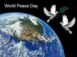 world peace day celebrated in