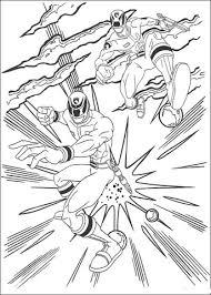 Power Rangers Vallen Aan Kleurplaat Gratis Kleurplaten Printen
