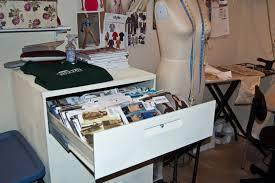 Sewing Pattern Storage Amazing Decoration