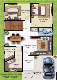 homely design 13 duplex house plans for 30x50 site east facing