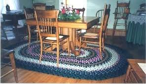oval rugs for dining room 7 x 9 braided rug area 7x9