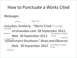Mla Citation Format Example Citation Format Example The Template Mla Google Doc C Constructor
