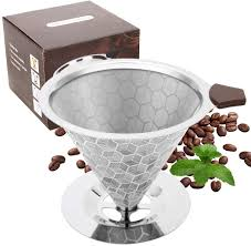 You have searched for ninja coffee bar filter basket with handle in many merchants, compared about products prices & reviews before deciding to buy them. Amazon Com Coffee Filter With Base Reusable Cone Shape Coffee Filter 6 12 Cup Compatible With Cuisinart Coffee Filter Compatible With Ninja Coffee Bar Brewer Kitchen Dining