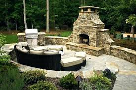 modular outdoor fireplace systems doors for rtf kit