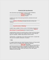 This sublease agreement is available for use on upcounsel. Free 10 Commercial Sublease Agreement Templates In Pdf Ms Word Google Docs Pages