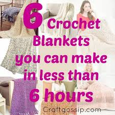 Quick And Easy Crochet Patterns Delectable 48 Afghans That Take Less Than 48 Hours To Crochet Crochet