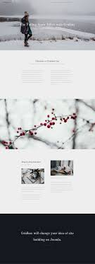 Snow Animated Animated Falling Snow Effect With Gridbox For Your Joomla Website