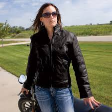 allstate leather inc women s leather riding jacket