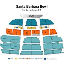 Prototypical Santa Barbara Bowl Seating Chart With Seat