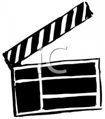 Cartoon Film Royalty Free Clipart Image Cartoon Movie Clapper
