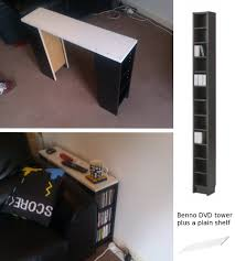 sofa table with storage ikea. IKEA Hackers: CD Storage/sofa Table Maybe As A Desk For D, Using 2 Deep? Sofa With Storage Ikea