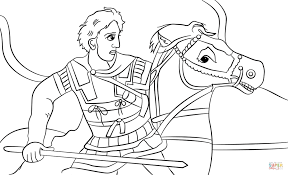 Small Picture Alexander the Great coloring page Free Printable Coloring Pages
