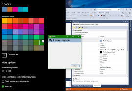 Windows 10 Color Scheme System Windows Systemcolors Useless In Windows 10 Issue 774