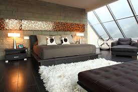 rugs bedroom shag image credit cantoni shaggy rug bedroom contemporary with artwork bed