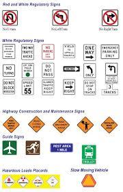 dmv sign test. Modren Sign Image Of Various Traffic Signs For Dmv Sign Test