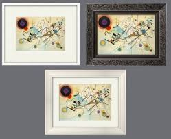 art framing. Framing Pictures Guide From Abstract Art Framed