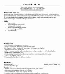 assistant manager skills assistant store manager resume sample manager resumes livecareer