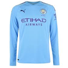 Puma Size Chart Football Shirt Puma Manchester City Long Sleeve Home Shirt 2019 2020