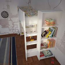 cubby house furniture. Cubby House Bunk Bed With Open Shelves Furniture