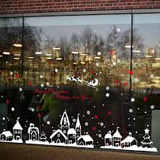 Tuopuda Weihnachtssticker Weihnachten Rentier Schneeflocken