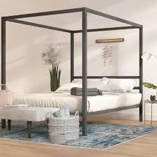 Canopy Bed Budm Mash Studios Pchseries Canopy Bed Reviews Wayfair ...