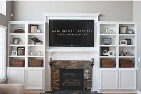 tv over mantle. Interesting Mantle The Yellow Cape Cod Inside Tv Over Mantle O