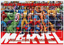 Avengers Potty Chart Marvel Superheroes Personalised Reward Chart With Free