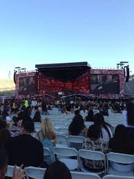 Rose Bowl Section B2 Row 34 Seat 11 One Direction Tour