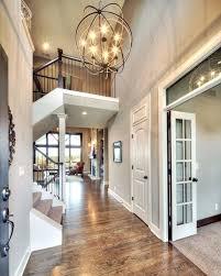 entry chandelier