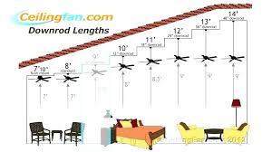 ceiling fan size for bedroom ceiling fan size bedroom ceiling fans ceiling fan blade size fan