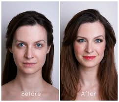 before and after bridal makeup 1