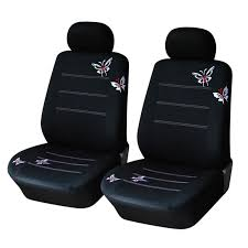 Car <b>Universal Seat</b> Cover Cushion Butterfly Embroidery Decorative ...