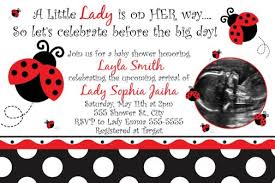 Pink And Black Baby Shower Invitations U0026 Announcements  ZazzleFree Printable Ladybug Baby Shower Invitations