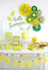 Diy Party Printables Lemon Themed Party Ideas With Diy Decorations Party Ideas