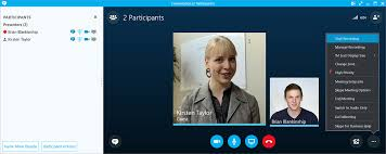 record skype video calls record caption and share skype for business meetings with