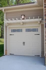 Faux Garage Door Windows Faux Windows Accessories For Coach House Garage Door Make Over