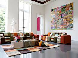 colorful modern furniture. Living Room Colorful Modern Sofa Cushions For Rugs The Effects Furniture E