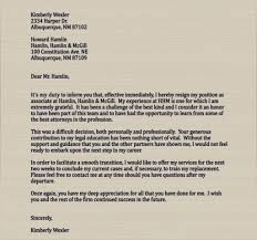 a good example for a letter of resignation you will have to write a good example for a letter of resignation you will have to write one