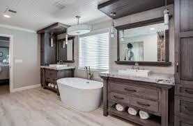 custom master bathrooms. Simple Custom Master Bathroom Remodel With Custom Built In Vanities Natural Wood Throughout Custom Bathrooms