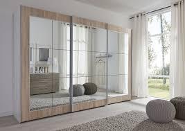 Schwebetürenschrank Elegant Silber Mit Spiegel Navena24 Möbel