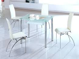 small glass dining room sets. Dining Table With White Chairs Delightful Small Brilliant . Glass Room Sets A