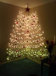 christmas tree lighting ideas. Wall-christmas-tree-alternative-christmas-tree-ideas Christmas Tree Lighting Ideas S