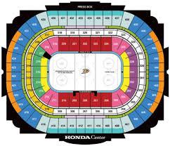 Nhl Hockey Arenas Honda Center Home Of The Annaheim Ducks