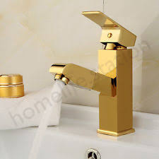 gold bathroom taps ebay. gold color pull out spray kitchen bathroom mixer tap sink steel swivel spout taps ebay