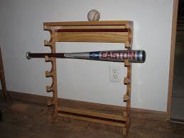 Baseball Bat Display Stand Extraordinary Baseball Bat Holder By Time32beupinAZ LumberJocks