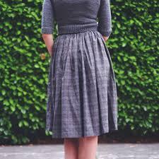 Simple Skirt Pattern With Elastic Waist Custom Inspiration Design