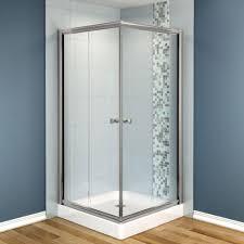 Bathroom Adorable Bathroom Decoration With Corner Glass Shower