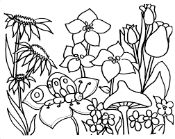 Small Picture picture Garden Coloring Pages 17 For Free Coloring Book with