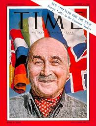 Jean Monnet | Oct. 6, 1961 · Previous Week's Cover · Following Week's Cover · Proposed the Common Market. Cover Credit: BERNARD SAFRAN - 1101611006_400